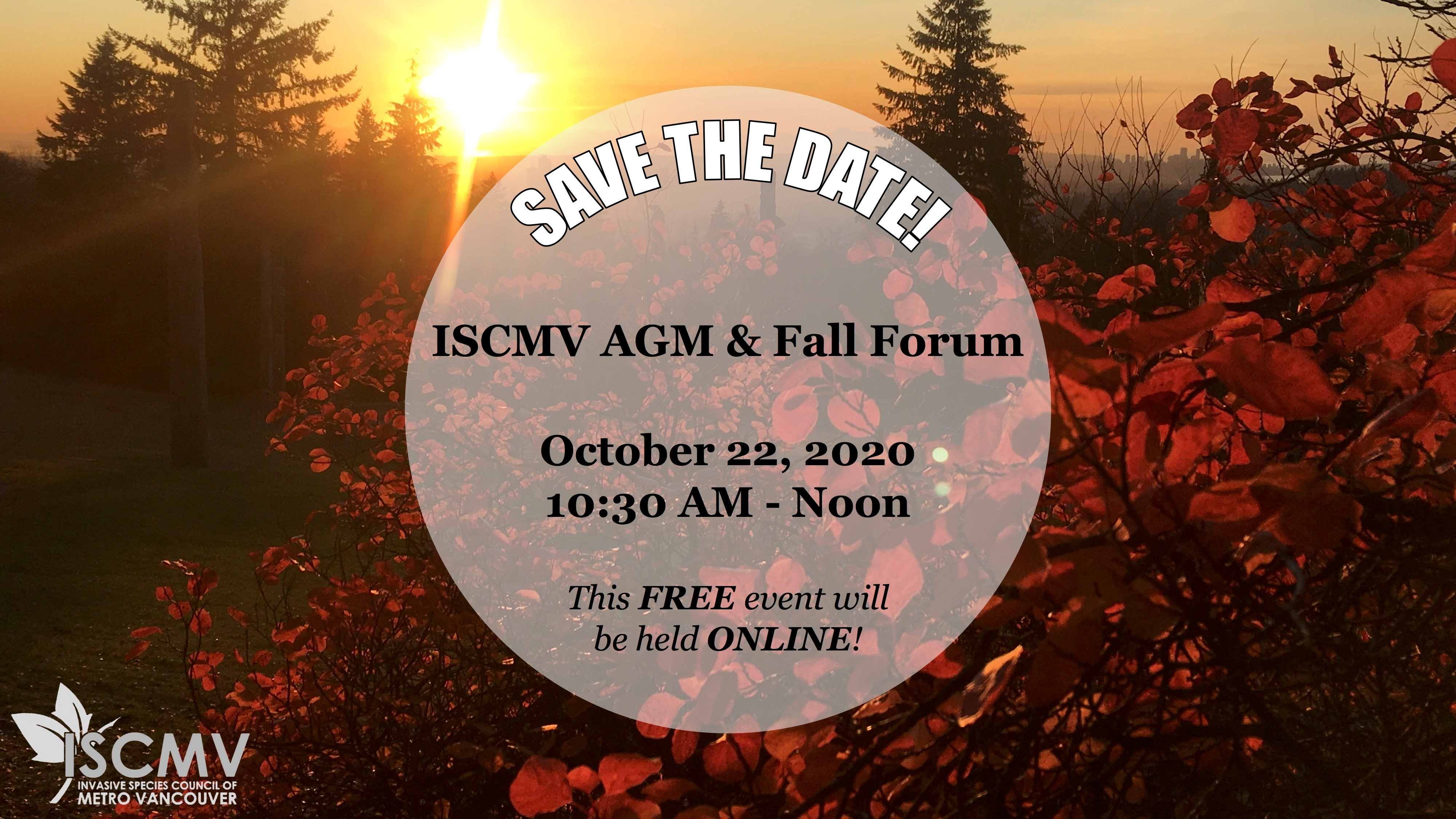 ISCMV 2020 AGM & Fall Forum photo