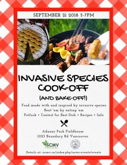 Invasive Species Cook-off photo