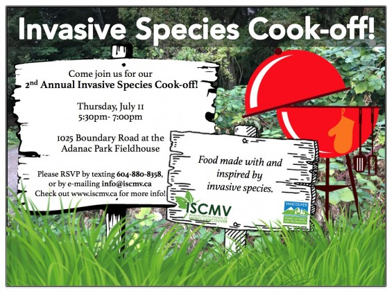 2nd Annual Invasive Species Cook-Off! photo