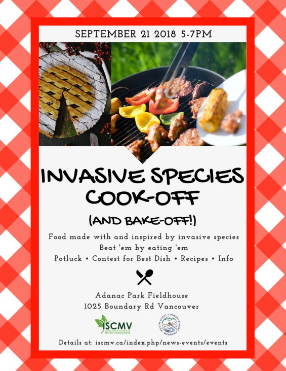 Invasive Species Cook-off photo